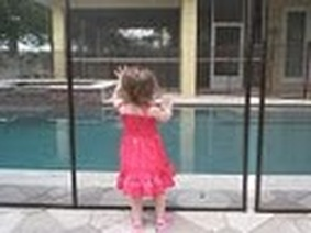 Balack pool fence in Lakewood Ranch fl